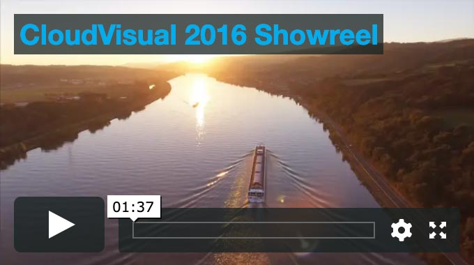 player window of 2016-17 drone company showreel